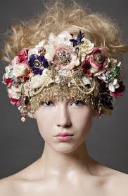 floral headpiece floral crowns been big this summer could been the