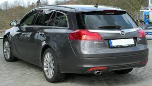 opel insignia sports tourer file opel insignia sports tourer rear 20100328 jpg wikimedia commons