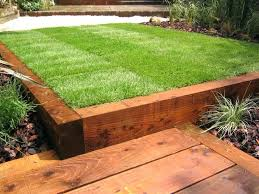 Railway Sleepers Garden Ideas Garden Sleeper Garden Railway Sleepers Uk Howtomeditate Club