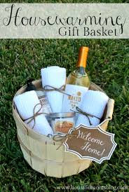housewarming gift baskets diy housewarming gift basket