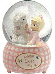baptism snow globes sweet dreams guardian angel baby prayer musical