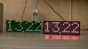 membuat jam digital led besar belajar buat jam digital dot matrix dengan atmega8 cara tekno