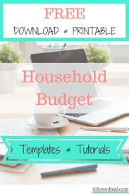 25 unique household budget template ideas on pinterest family
