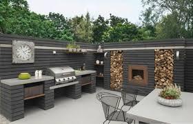 cuisine exterieure beton 1001 idées d aménagement d une cuisine d été extérieure