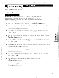 mr e u0027s world geography page chapter 14 the physical geography