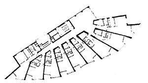 alvar aalto floor plans neue vahr apartment tower bremen