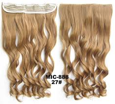 Synthetic Hair Extension by Bath U0026 Beauty 5 Clip In Synthetic Hair Extension Hairpieces Wavy