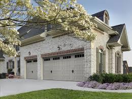 Overhead Door Panels Amarr Oak Summit Recessed Panel Garage Door In Sandtone With