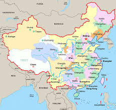 Blank Ancient China Map by Ancient Chinese City Map Chinese Province Cities Map Babaimage