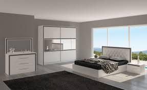 chambre blanc laqué mobilier chambre contemporain galerie avec chambre pour adulte