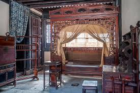 Chinese Bedroom Ancient Chinese Bedroom Within Sanweishuwu Stock Photo Image