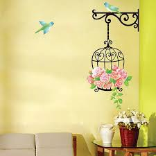 Features Flock Of Birds Flying Removable Wall Window Stickers Dan