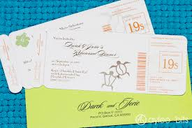 diy boarding pass invitation save the date aylee bits