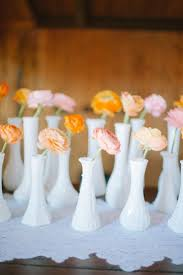 glass milk bottle vase 5 unique wedding centerpiece combinations that make a statement