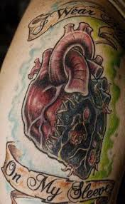 16 sacred heart tattoo images pictures and ideas