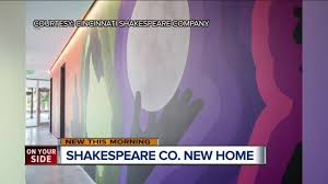 all company home theater cincinnati shakespeare hopes new theater makes the bard u0027s work