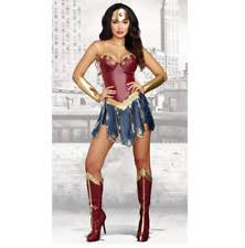 Wonder Woman Costume Wonder Woman Cosplay Costumes Ebay