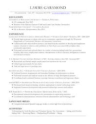 Resume Sample Language Skills by Examples Of Resumes Sample Resume For First Job Easy Resume