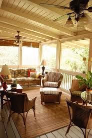 screened porch so much prettier than the traditional florida