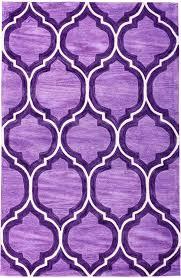pino classic lattice trellis plum area rug purple ivory moroccan