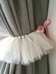 Primitive Curtain Tie Backs Set Of Two Tutu Curtains Tie Back Projects To Try Pinterest