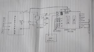 Stepper Motor Driver Wiring Diagram Switching Power To Stepper Motor Drive Using Relay And Arduino