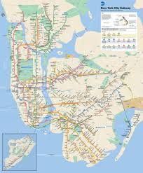 Map New York State New York City Subway Map Nyc Pinterest Subway Map Nyc Central Nyc