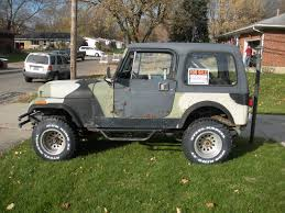 jeep body for sale 1985 jeep cj7 4x4 with 1995 jeep yj body tub for sale in