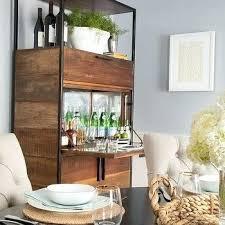 Mirrored Bar Cabinet Bars Amp Bar Carts Delphine Bar Small Mirrored Bar Cabinet Vintage