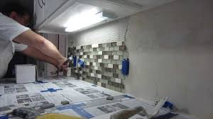 installing kitchen tile backsplash how to install tile backsplash