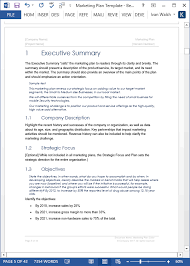 marketing plan template 40 page ms word template and 10 excel