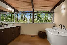 cool bathtub caddy in bathroom midcentury with midcentury modern