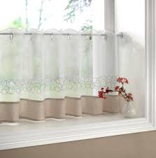 decor vintage cafe curtains kitchen with lace cafe curtains