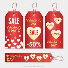valentines sale day sale tags free vectors ui