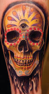 sugar skull tattoo designs tattoo designs