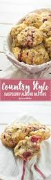country style raspberry almond muffins crumb kitchen