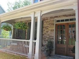 Front Porch Designs With Stone