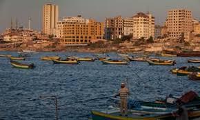 gaza city in the spotlight hesitant in a city where everyone