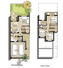 hayat town square floor plans by nshama dubai