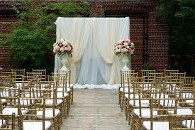 wedding backdrop outdoor estate outdoor garden wedding pink lace