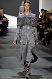 is gray the official color of new york fashion week vogue