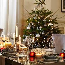 xmas tree on table kelly hoppen s christmas decorating tips xmas decoration ideas