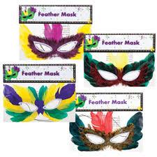 bulk mardi gras bulk mardi gras feather party masks 10 at dollartree add
