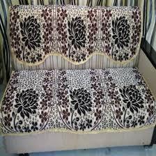 Sofa Covers Online In Bangalore Maroon Cream Sofa Cover Floral Design Pack Of 6 U2013 Griiham