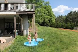 diy 32x16 ish pool on steep slope