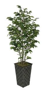 real looking 5 dogwood silk tree white colors silk tree be