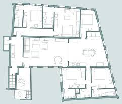 Palazzo Floor Plan Exclusive Rental Of Bellini Apartment In Sestiere San Marco
