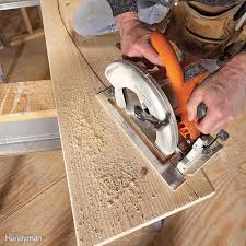 Circular Saw Blade For Laminate Flooring How To Use A Circular Saw Family Handyman