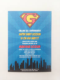 superman baby shower invitations plumegiant com