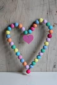 kids craft wire and coloured beads hearts pinterest crafts